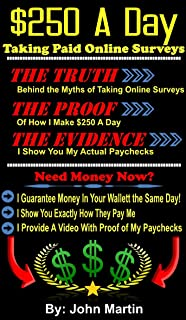 Taking Paid Online Surveys: The Truth, The Proof, The Evidence