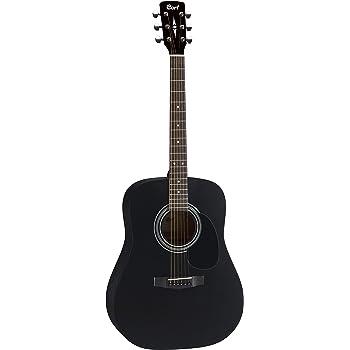 CORT AD810 guitarra acústica de satén de color negro guitarra Folk ...