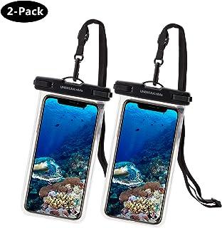 c4c033b9950 UNBREAKcable Funda Impermeable Universal - Bolsa para móvil estanca a  Prueba de Agua IPX8 para iPhone XS MAX/XR/XS/X / 8 / 8plus / 7 Samsung  Galaxy S10Plus ...
