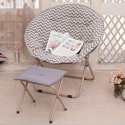 QIQI Chaise Pliante,Chaise De Lune,Chaise Longue Paresseux Chaise Lounge Chaise Canapé Lunch Break Dossier De Chaise