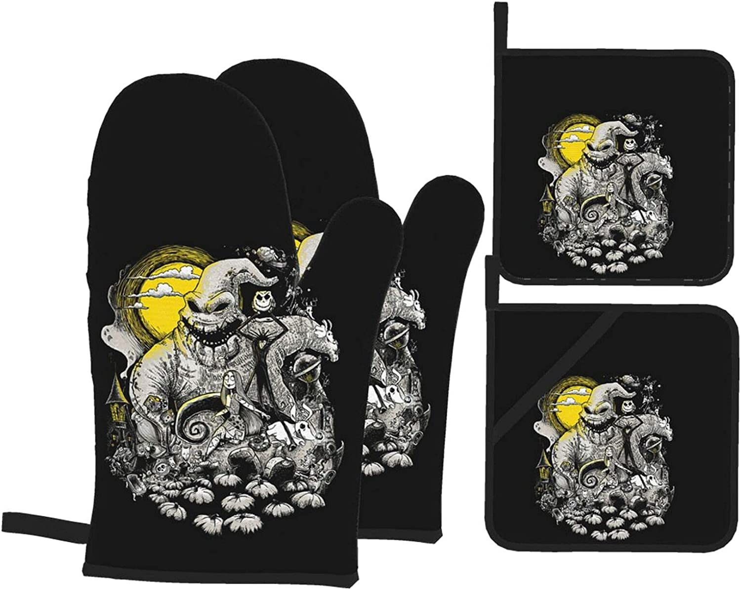 Oo-Gie Boo-Gie Max 49% OFF Oven Today's only Mitts Anti-Scalding Pads Pot Mitt Insulation