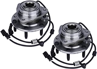 Replacement Front Wheel Hub Bearing Assembly Set of 2 - Compatible with Chevy, Buick, GMC Vehicles - Rainier, SSR, Trailbl...