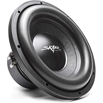 "Skar Audio SDR-12 D4 12"" 1200 Watt Max Power Dual 4 Ohm Car Subwoofer"