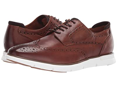 Kenneth Cole New York Dover Lace-Up (Cognac) Men