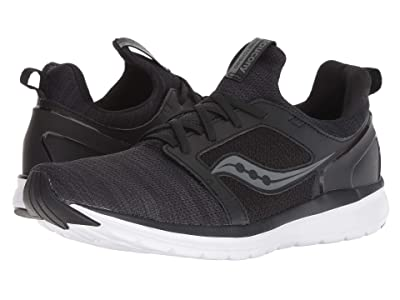 Saucony Stretch Go Ease (Black/Charcoal) Men