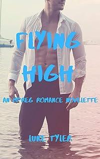 Flying High: An Mpreg Romance Novelette (English Edition)