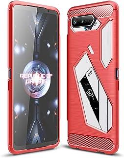 TingYR Case for Asus ROG Phone 5 Ultimate, Ultra Slim Flexible TPU Shock Absorption, Anti-Scratch, Premium Flexible Rubber...