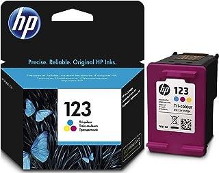 HP 123 Tri-color (Cyan, Magenta, Yellow) Original Ink Advantage Cartridge - F6V16AE