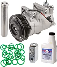 AC Compressor w/A/C Repair Kit For Nissan Rogue 2008 2009 2010 2011 2012 - BuyAutoParts 60-81793RK New