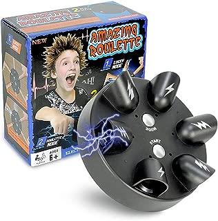 LeSharp Novelty & Gag Toys, Children Creative Toy Mini Electric Shock Finger Lucky Shocker Tidy Game Gift