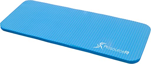 """ProsourceFit Yoga Knee Pad and Elbow Cushion 15mm (5/8"""") Fits Standard Mats for Pain Free Joints in Yoga, Pilates, Floor Workouts"""