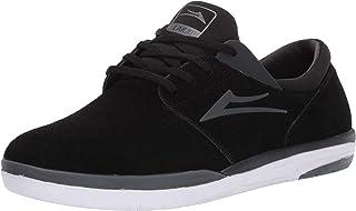 Lakai Footwear Fremont Black/Charcoal Suedesize Tennis Shoe, Black/Charcoal Suede