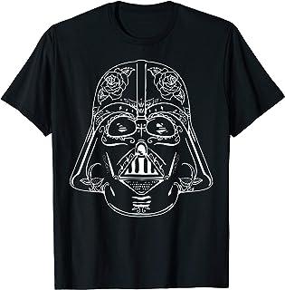 Star Wars Darth Vader Sugar Skull Classic Graphic T-Shirt