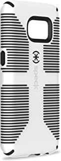 Speck Products Samsung Galaxy S7 Case, CandyShell Grip Case (White/Black), Military-Grade Protective Case