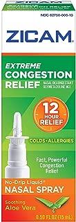 Zicam Extreme Congestion Relief Liquid Nasal Gel - 0.5 oz, Pack of 5