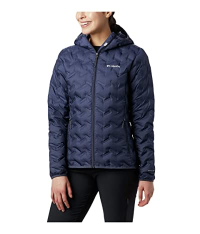 Columbia Delta Ridge Down Hooded Jacket (Nocturnal) Women