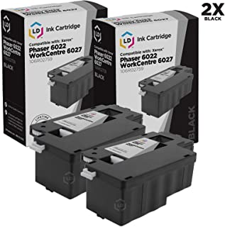 LD Compatible Toner Cartridge Replacement for Xerox 106R02759 (Black, 2-Pack)