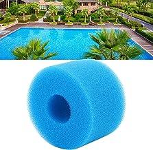 Denkerm Columna de Esponja, Elemento de Piscina Lavable Reutilizable, para Limpiar Equipos y Piezas de Piscina Negra/Azul para Piscina(Blue)