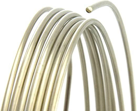 120 Ft 20 Ga Nickel Silver Wire Round Soft 5 Oz Coil Solid Nickel Silver Wire