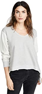 Wilt Women's Deep V Mixed Sweatshirt