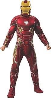 Rubie's Men's Marvel: Avengers 4 Deluxe Iron Man (Mark 50) Costume & Mask Adult Costume