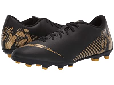 Nike Vapor 12 Club MG (Black/Metallic Vivid Gold) Men