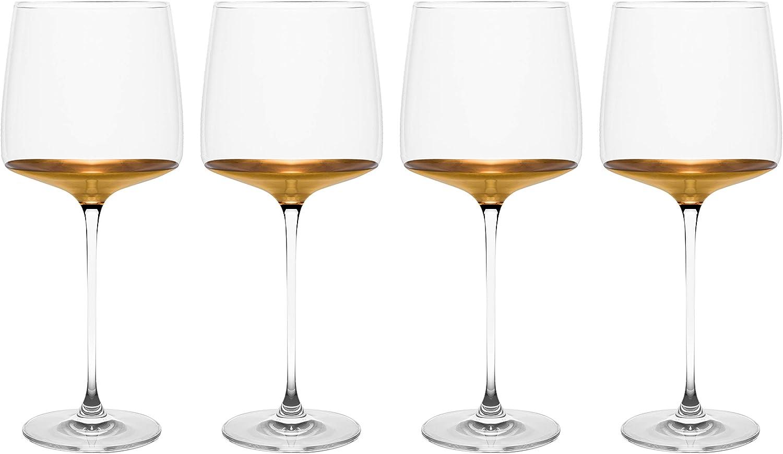 Barski - Handmade Popular popular Glass Wine Decororated Philadelphia Mall i Goblat Dipped And