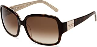 Women's Lulu Rectangular Sunglasses, Tortoise Gold...