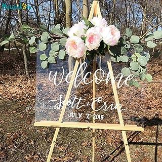 Designs /über 60 vers Expressversand 2-4 Werktage Willkommensschild Hochzeit Empfangstafel Willkommensboard Welcomeboard Trauung Giris Panosu Personalisierbar