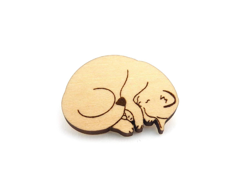 Sleeping Cat Small Wood List NEW price Pin