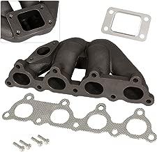 AJP Distributors Iron Cast Turbo Exhaust Manifold Boost Upgrade For Honda D15 D16 D Series Civic Del Sol Crx