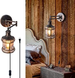 hardwired wall sconce