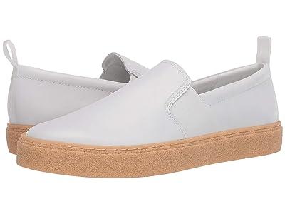 Calvin Klein Emmett (White/Small Grain Leather) Men