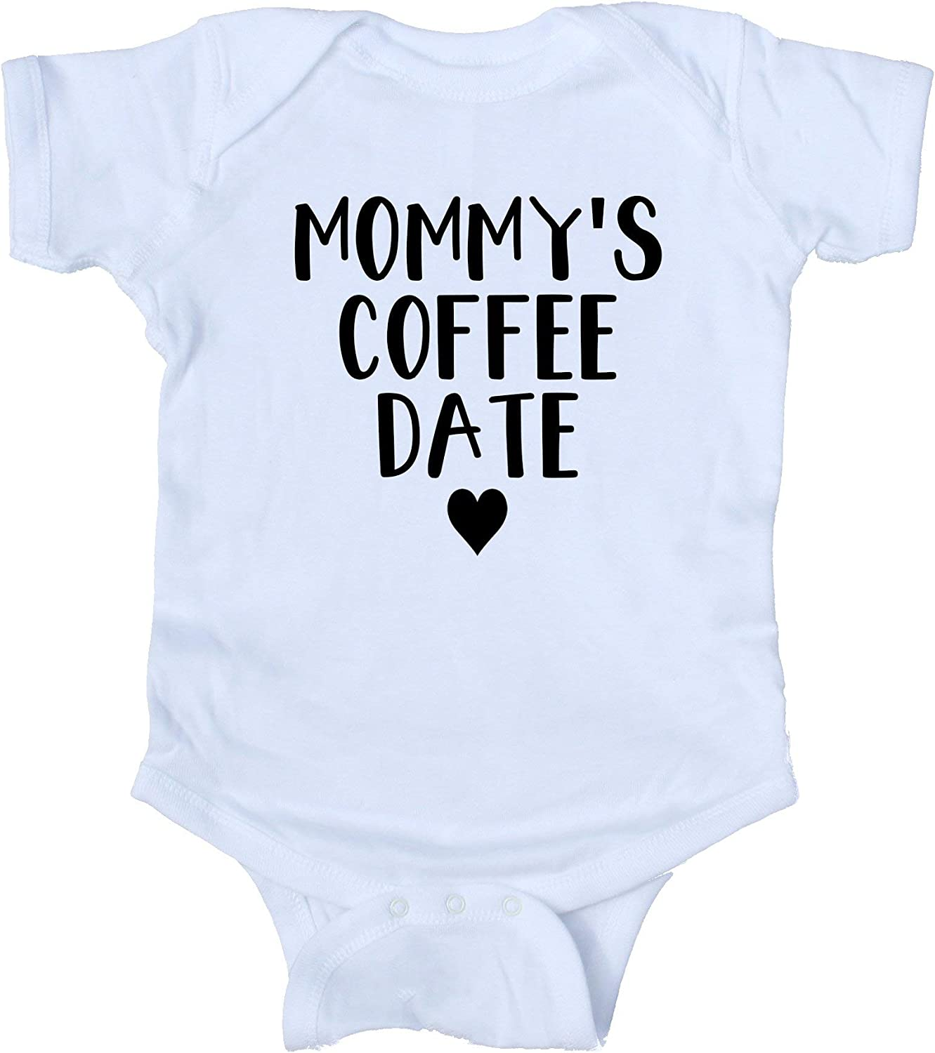 Mommys Coffee Date Baby Onesie Boy Girl Clothing