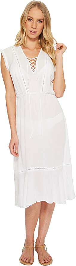Tie Front Dress Cover-Up