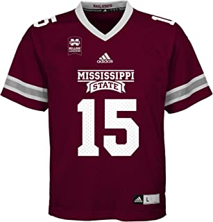 adidas Mississippi State Bulldogs Dak Prescott NCAA Youth Boys Replica Football Jersey