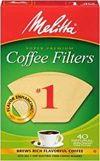 melitta #1 small paper filters