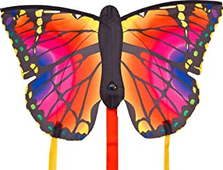HQ Kites Ruby L Butterfly Kite, 51 Inch Single Line Kite with Tail