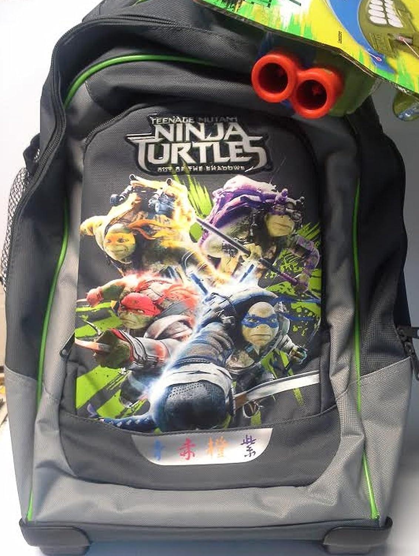 artículos novedosos Zaino trolley trolley trolley Ninja Turtles in tessuto poliestere con serigrafie  bienvenido a comprar