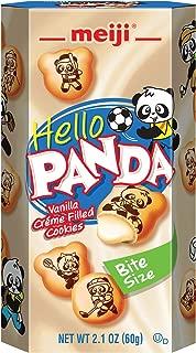 Meiji Hello Panda Cookie, Vanilla, 2.1 oz (Pack of 10)