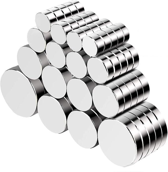 1877 opinioni per Jewan 80 Pezzo Magneti forti neodimio potente magnete calamita super forte da