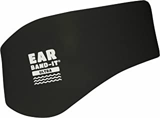 EAR BAND-IT Ultra Swimming Headband - Best Swimmer's Headband - Keep Water Out, Hold Earplugs in - Doctor Recommended - Se...