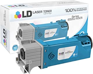 LD Compatible Toner Cartridge Replacement for Xerox Phaser & WorkCentre 6500 106R01594 High Yield (Cyan)