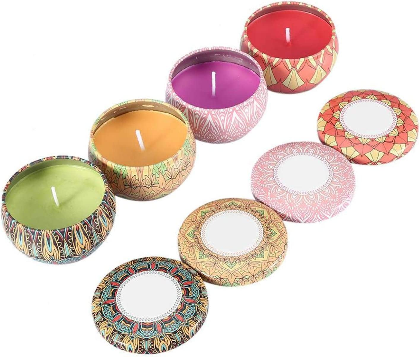 Omabeta Scented Ranking TOP11 Candles Gift Set Cand Translated 4PCS Portable