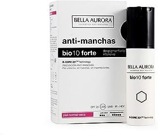 Bella Aurora Bio 10 Forte Crema Anti-Manchas Facial SPF 20 Anti-edad Despigmentante Cara 30 ml