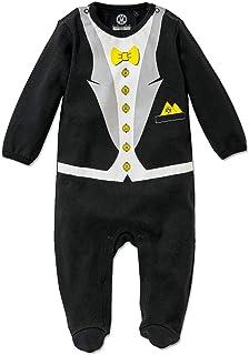 Borussia Dortmund BVB-Babystrampler Anzug mit Fliege