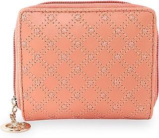 ESBEDA Light Orange Color Elegance Embroidered Design Wallet For Women