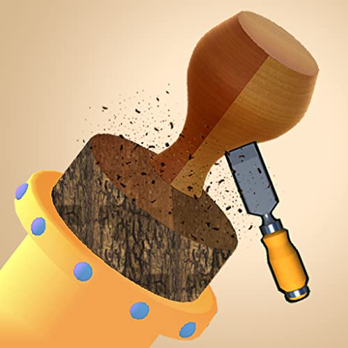 Wood Turner Carving - Pottery Paint Puzzle