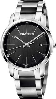 Calvin Klein Men's Quartz Watch, Analog Display and Stainless Steel Strap K2G2G1B1
