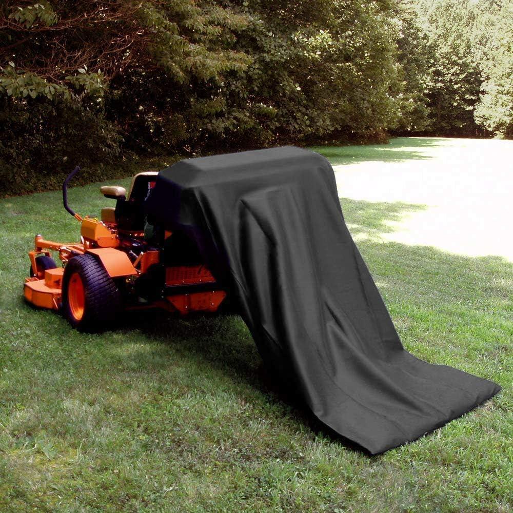 XINNI 420D Lawn Tractor Leaf Bag Grass Catcher Leaf Bag Capacity ...